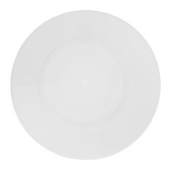 "White Round Cake Separator Plate - 6"""