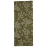 Jacquard Leaves Kitchen Towel