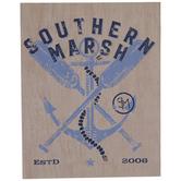 Anchor & Paddles Southern Marsh Wood Decor