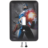Captain America Single Switch Plate