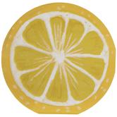 Round Lemon Slice Paper Napkins