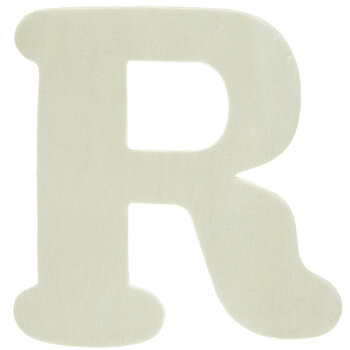 """Wood Letters R - 4"""""""