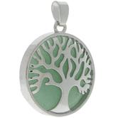 Aventurine Tree Pendant