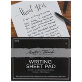 "Writing Sheet Paper Pad - 6"" x 8"""