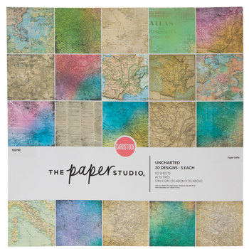 Uncharted Cardstock Paper Pack