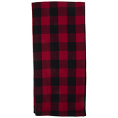 Red & Black Buffalo Check Kitchen Towel