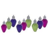 Glitter Bulb Ornaments