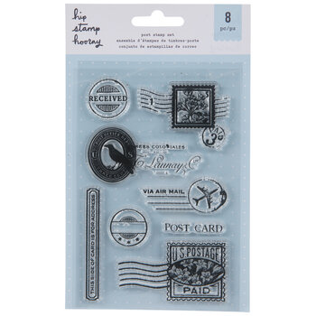 Post Card Clear Stamps