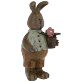 Bunny With Flower Pot