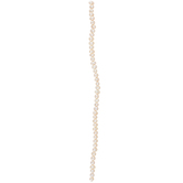 White Grade A Cultured Pearl Bead Strand