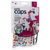 Unicorn Caps Perler Bead Kit