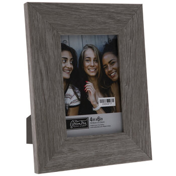 Gray Wood Look Frame