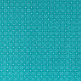 Turquoise Cherish Geometric Apparel Fabric