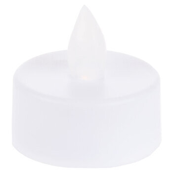 White Flickering Tea Light LED Candles