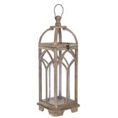Arched Wood Lantern