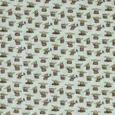 Star Wars Baby Yoda Cotton Calico Fabric