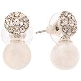 Imitation Pearl & Rhinestone Earrings