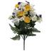Yellow & White Rose & Daisy Bush