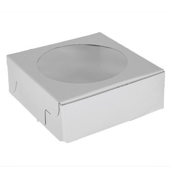White Cookie Boxes