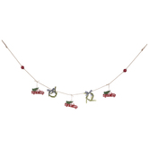 Trucks & Bows Garland
