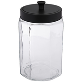 Octagon Glass Jar - Large