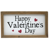 Happy Valentine's Day Wood Decor