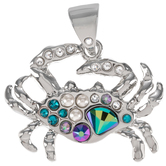 Swarovski Crab Rhinestone Pendant