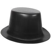Black Foam Top Hat