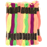 Neon Polyester Floss