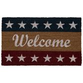 4th Of July Welcome Doormat