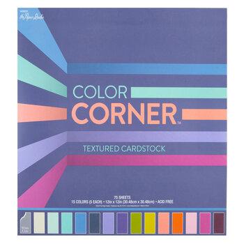 """Color Corner Paper Pack - 12"""" x 12"""""""