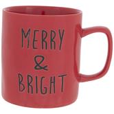 Red Merry & Bright Mug