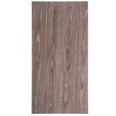"Wood Grain Aluminum Metal Sheet - 12"" x 24"""