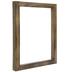 Flat Burned Wood Open Frame - 11