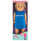 Poseable Springfield Abby Doll - 18""