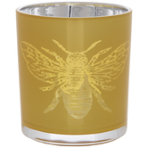 Bumblebee Glass Candle Holder