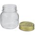 Round Glass Mason Jar - 5 Ounce