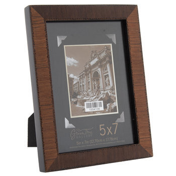 Walnut Veneer Wood Frame