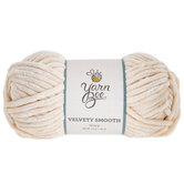 Ivory Yarn Bee Velvety Smooth Yarn