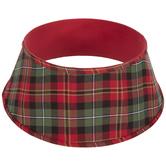 Red & Green Plaid Tree Collar