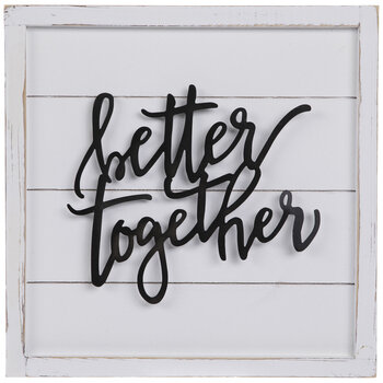 Better Together Wood Wall Decor
