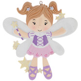 Girl Fairy Personalized Ornament