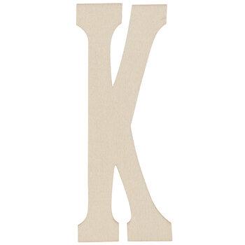 """Vintage Sign Wood Letters K - 4"""""""