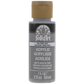 Steel Gray FolkArt Acrylic Paint