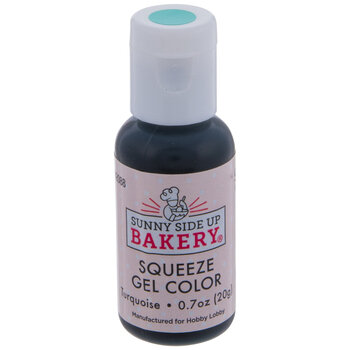 Turquoise Squeeze Gel Color - 20 Gram
