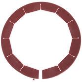 Red Silicone Pie Shield
