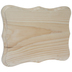 Quatrefoil Shield Wood Plaque - 9