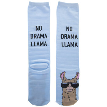 No Drama Llama Knee High Socks