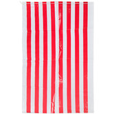 Red & White Striped Potato Sacks
