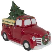 Vintage Red Truck Cookie Jar